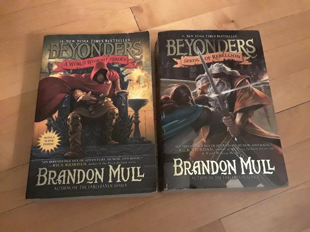 Beyonders Book 1 and 2