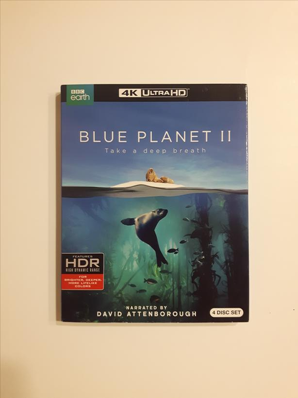Blue Planet 2 in 4K (Brand New)