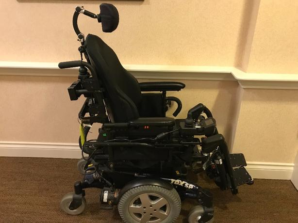 Invacare TDX SP power wheelchair w/MK6i controller
