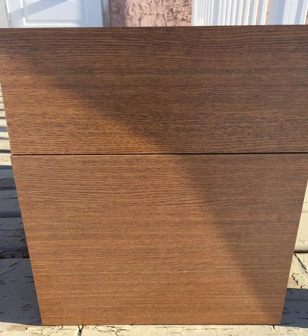 OFFICE QUALITY 4 DRAWER DESK/CREDENZA