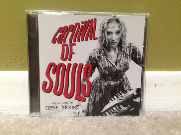 Carnival of Souls Soundtrack CD (Gene Moore)
