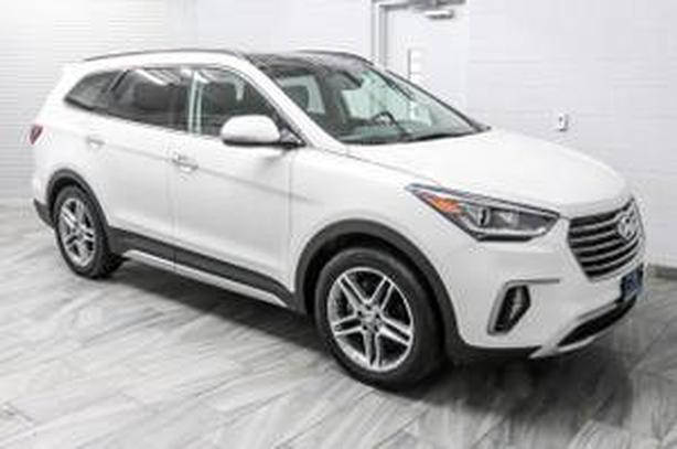 2017 Santa Fe xl ltd AWD
