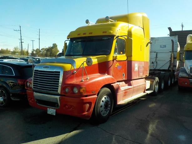 2007 Freightliner ST120 Highway Tractor with Sleeper Cab Manual