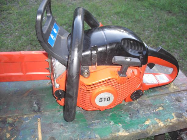 Dolmar 510 Chainsaw, with Case, 5 sharp Chains, & Tools
