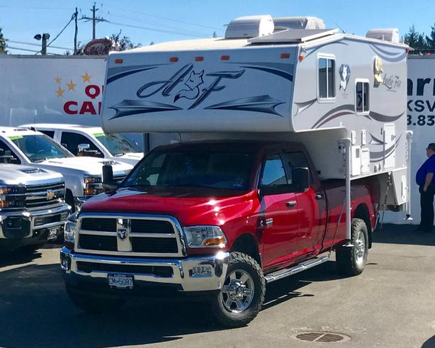 This Combo Truck & Camper is Ready to Find New Roads