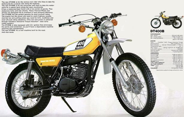 Wanted 1975 Yamaha DT400 Parts