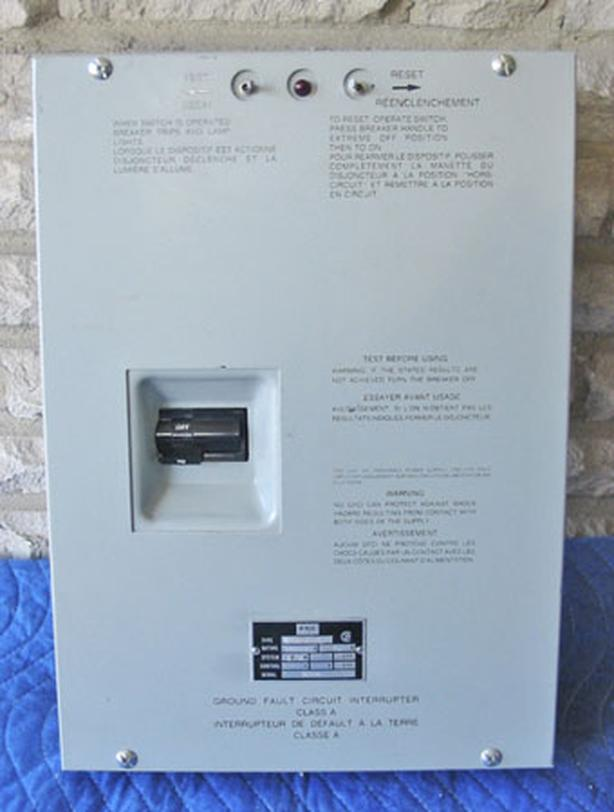 FPE 70 Amp GFCI Spa Panel Package (Class A/Nema 3R/1PH/240V) ~ Rare/Mint!