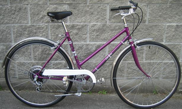 Suburban cruiser with 26 inch tires