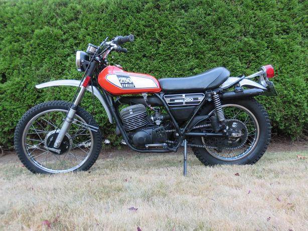 1975 Yamaha DT250 Enduro
