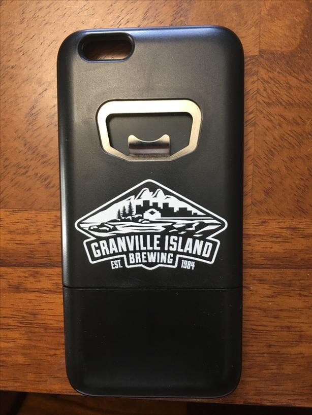 Granville Island Iphone 6 case + Doubles as Beer Opener