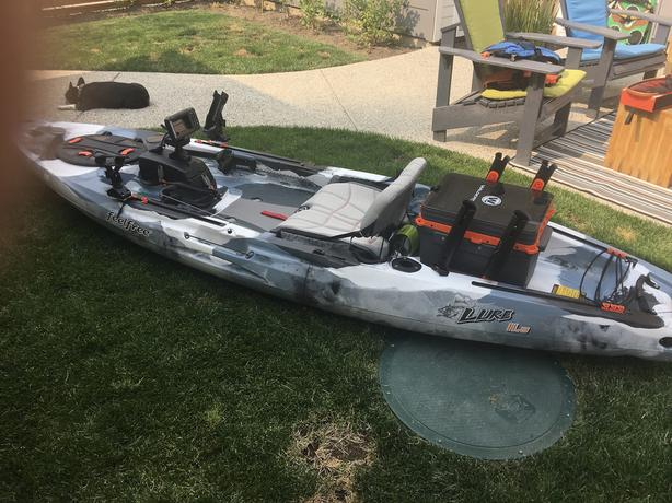 Feel Free Lure 11 5 Fishing Kayak Package W Gps And