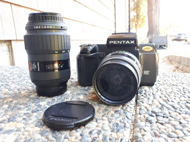 pentax Sf 1 35mm camera