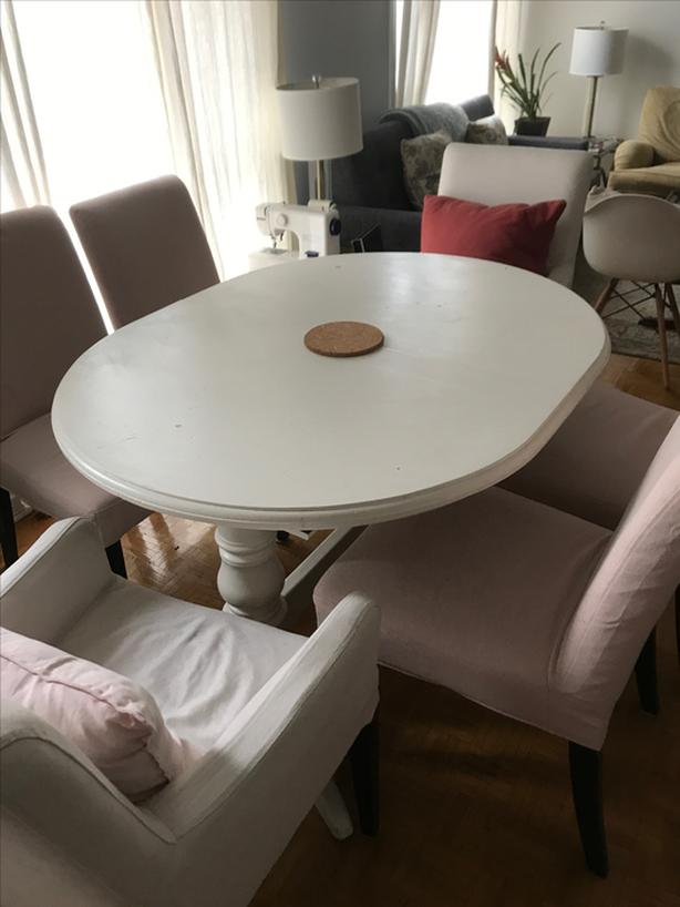 Hendriksdal IKEA dining chairs (6 chairs)