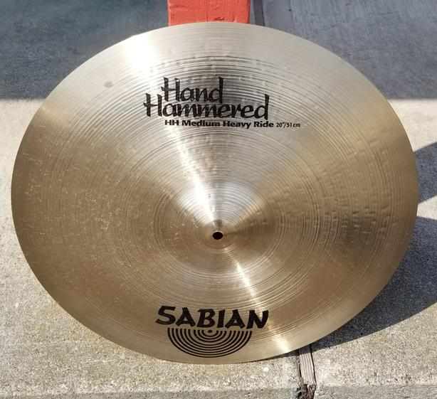 Sabian Hand Hammered Ride Cymbal