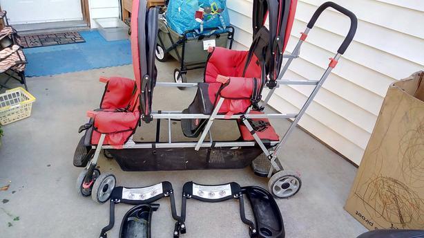 Stroller for 3