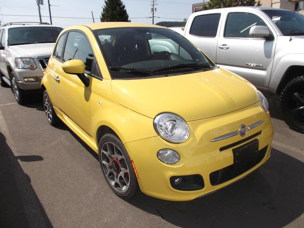 2012 FIAT 500 SPORT MANUAL FOR SALE