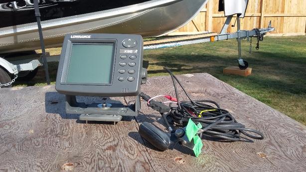 Lowrance depthsounder etc.