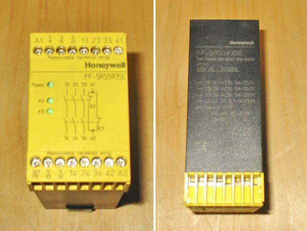 HONEYWELL FF-SRS5935E Two Channel Emergency Stop Module ~ Mint!