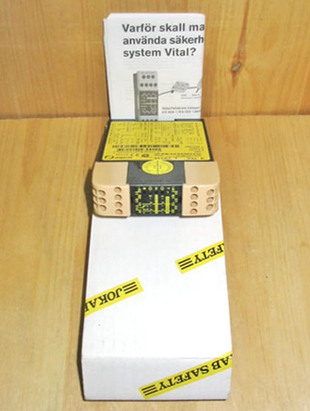JOKAB SAFETY VITAL 1 'Version E' Safety Control Relay (24 VDC) ~ New!