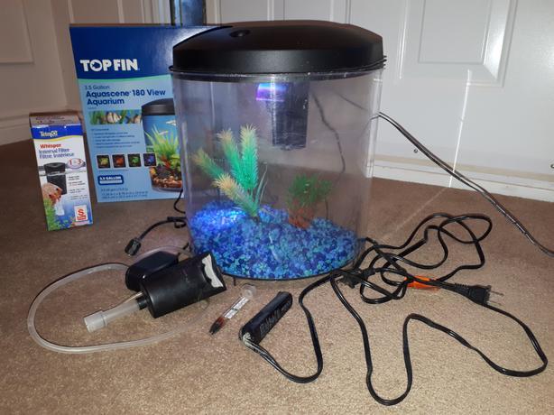 3.5 Gallon Fish Aquarium