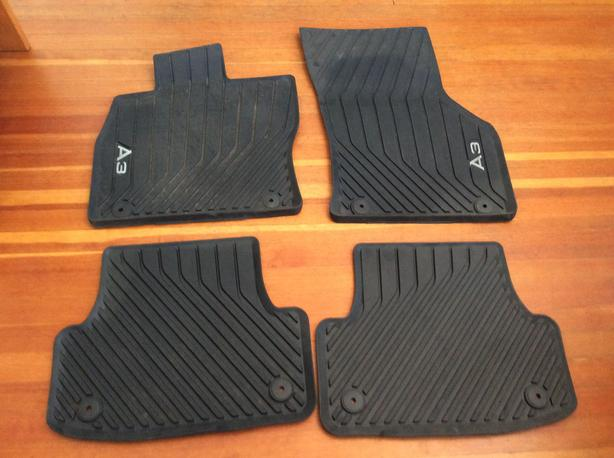 Audi A3 S3 Rubber Floor Mats Oak Bay Victoria