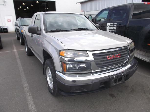 2005 GMC CANYON EXTRA CAB FOR SALE