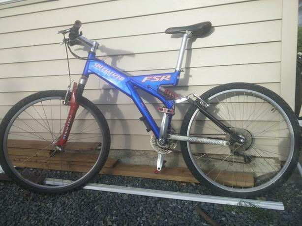  Log In needed $400 · obo-Specialized FSR Ground control 1998 full  suspension mountain bike