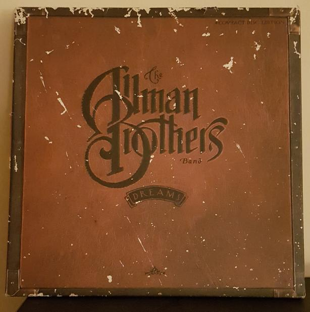 THE ALLMAN BROTHERS 4 CD BOX SET