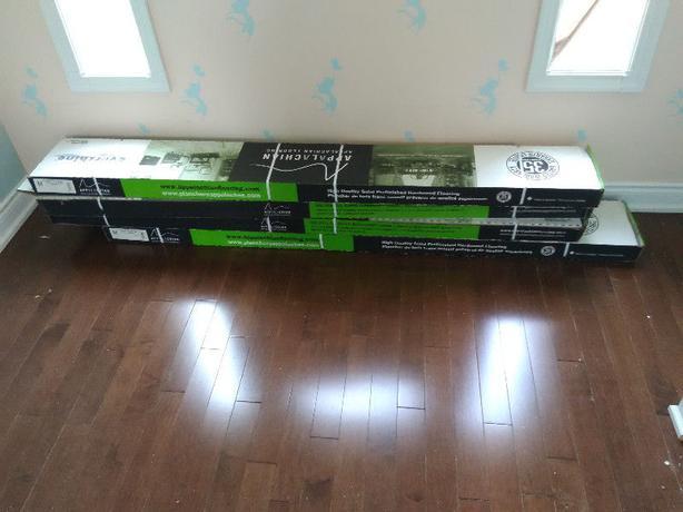 Appalachian Hardwood Flooring, Prestige Hard Maple 120 sq-ft