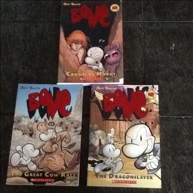 Three Bones books