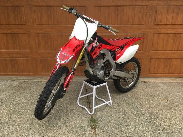 2015 Honda 450 crf