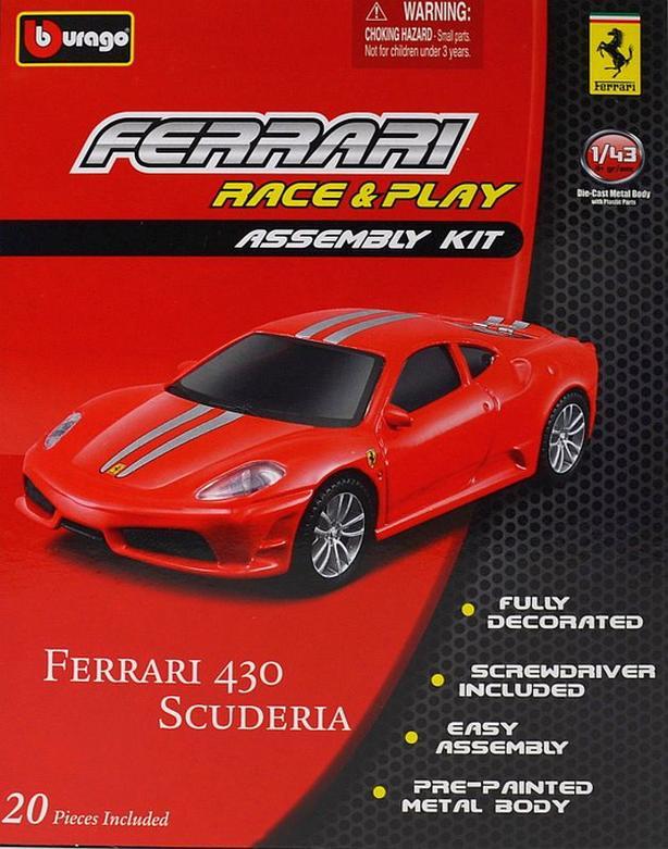 Burago 1/43 Ferrari 430 Scuderia kit