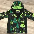 Boys size 10/12 lined rain jacket EUC
