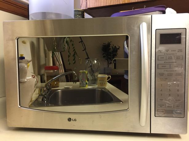 LG Microwave + Oven