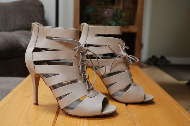 NEW - Never Worn - Size 10, Aldo Real Leather Stilettos
