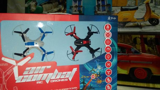 2 Air Combat RC Drones. Sweet Deal!!
