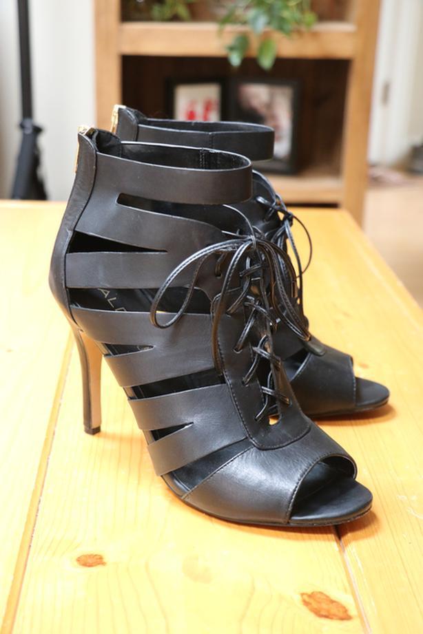 WORN ONCE - Size 10, Aldo Real Leather Stilettos