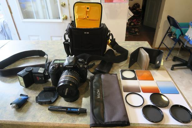 Fuji S5 Pro Digital SLR Camera 12.3mp
