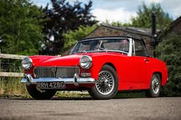 WANTED: MG Midget or Healey Sprite