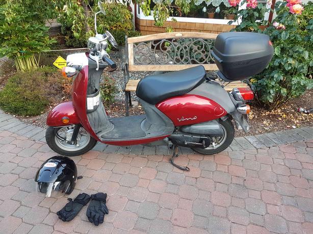 2008 Yamaha Vino XC50 Scooter