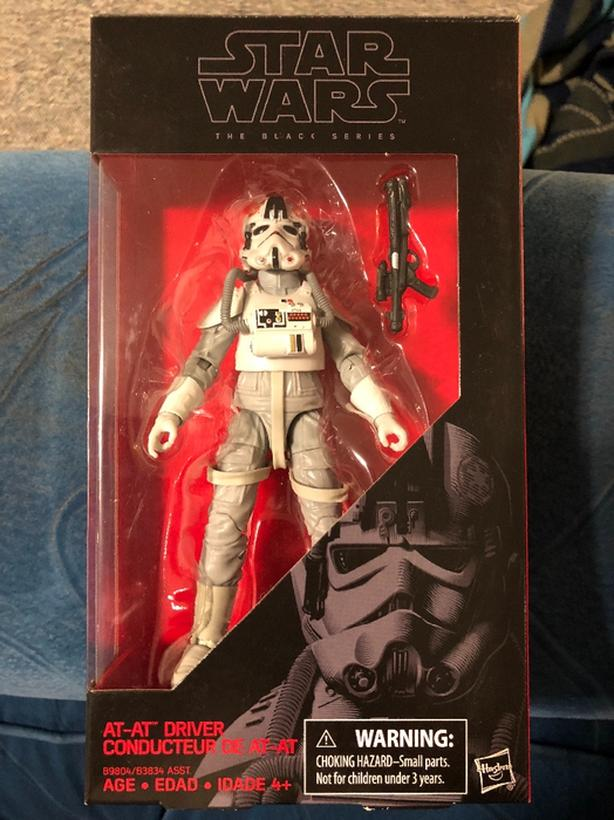 "Star Wars Black Series 6"" AT AT Driver"