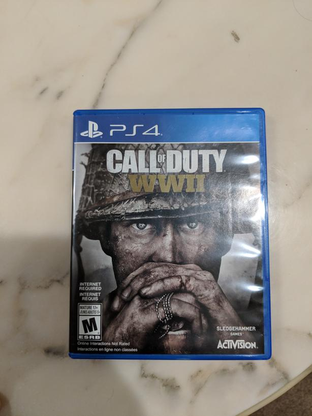 Call Of Duty WW2 Playstation 4 Game