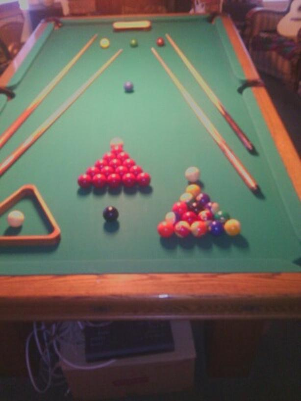 Golden West 4X8 Snooker Table