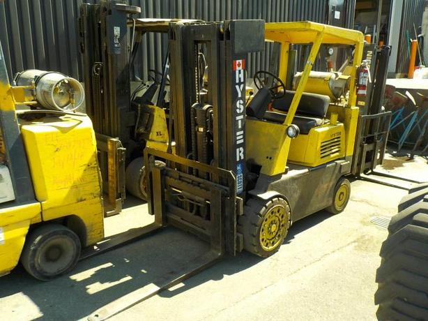 2003 Hyster S80 Propane Powered Forklift