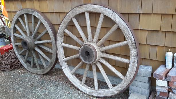 Wagon Wheels For Your House/garden Decor