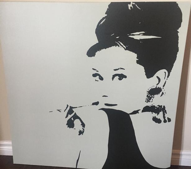 Brand new Audrey Hepbern Poster