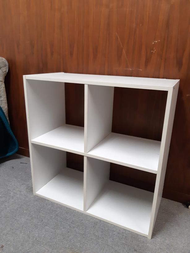brand new b0a84 bc8a0 Four Cube Ikea shelving unit $25 OBO Saanich, Victoria