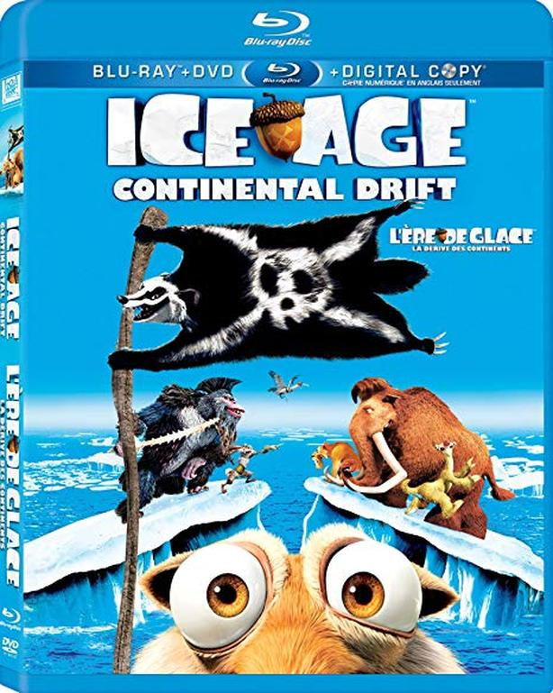 Ice Age Continental Drift BluRay New & Sealed