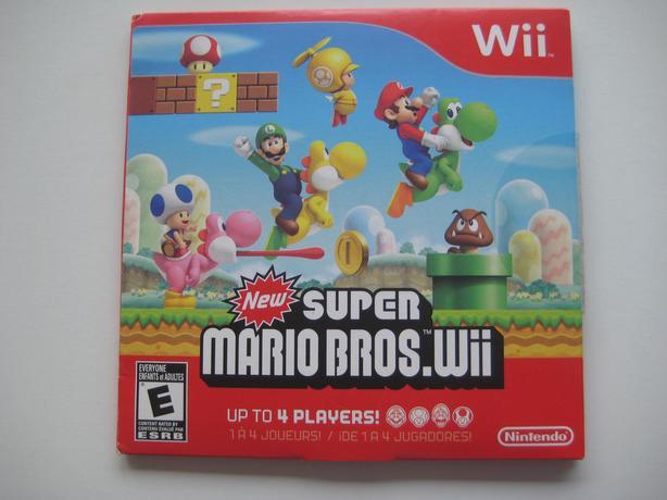 Wii New Super Mario Bros.