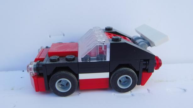 Lego Creator 30187 Fast Car Used Complete With Instructions